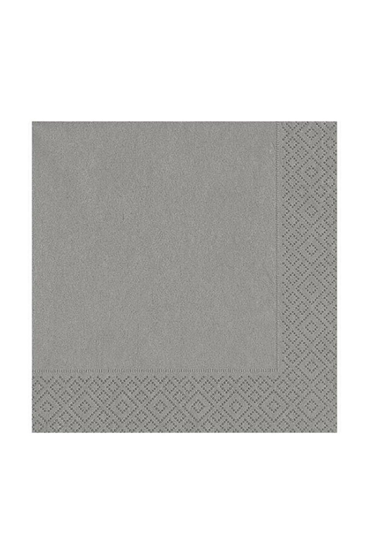 Kikajoy Gümüş Kağıt Peçete 33x33 cm 20'li