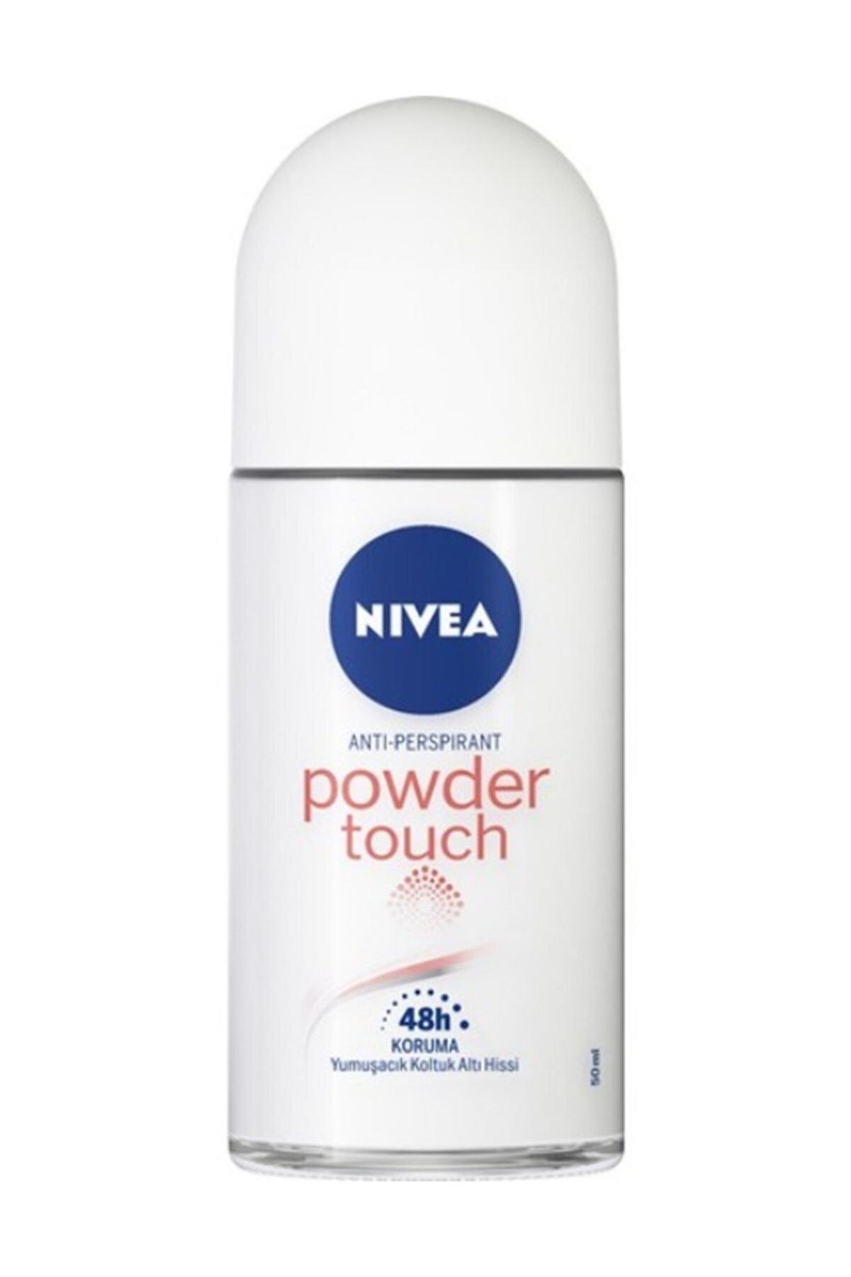 Nivea Powder Touch Roll-On Deodorant 50 ml Kadın