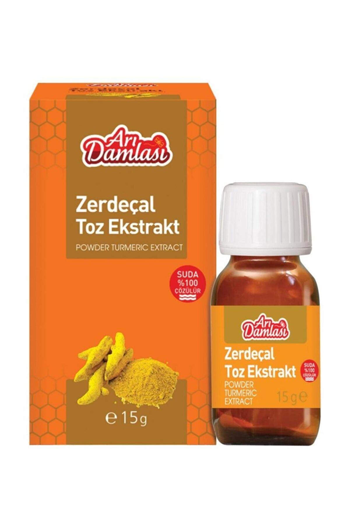 Arı damlası Zerdeçal Toz Ekstrakt 15 gr