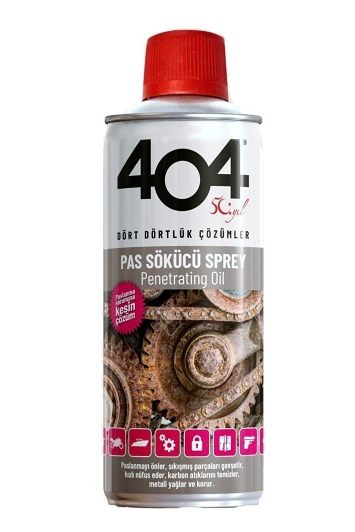 Orantı Filtre 404 Pas Sökücü 400ml
