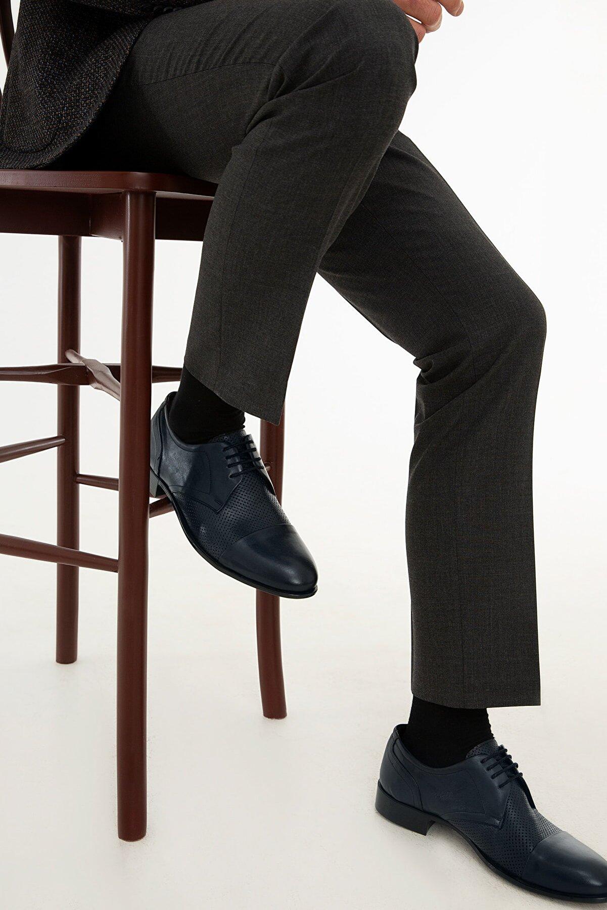 Pierre Cardin Erkek Lacivert Klasik Ayakkabı