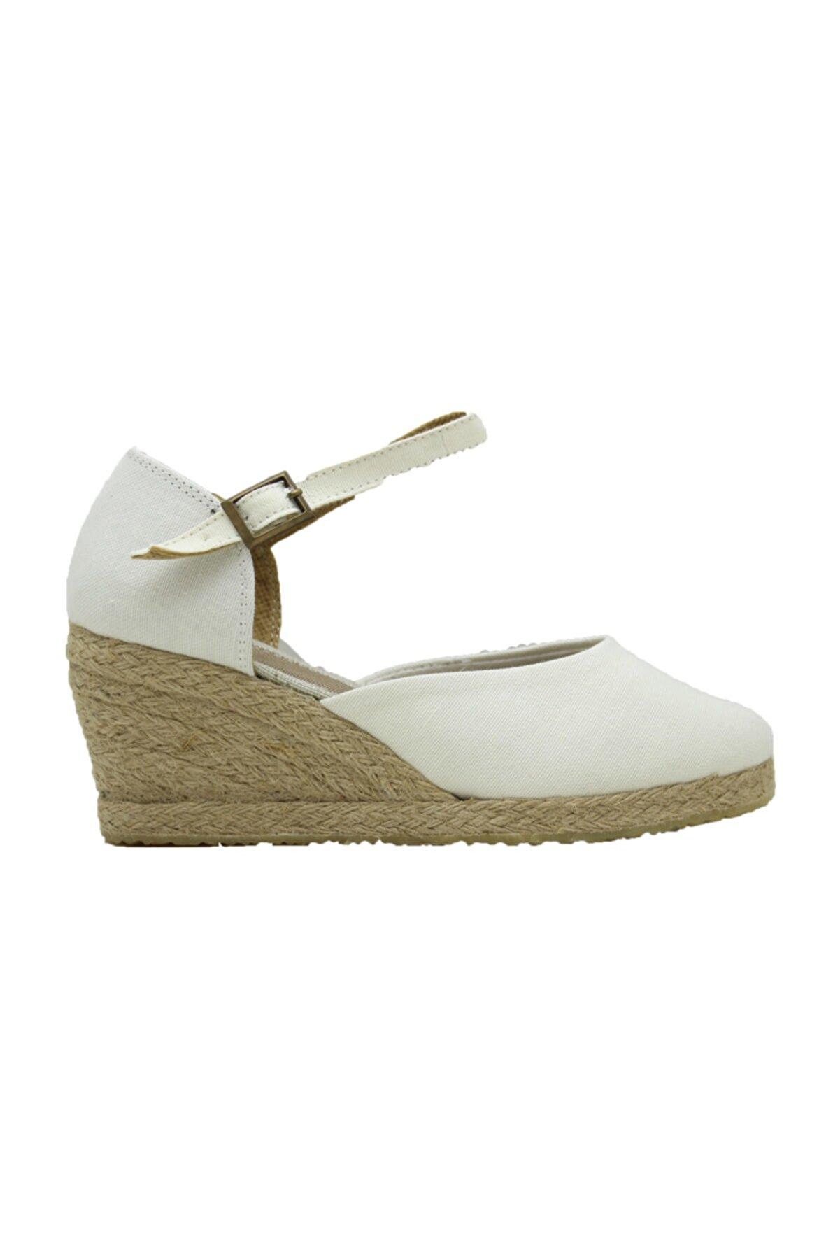 GokceKundura06 Keten Sandalet