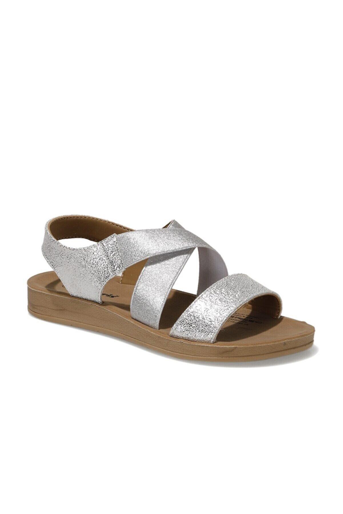 Polaris 91.150787PZ1FX Gümüş Kadın Sandalet 101020317