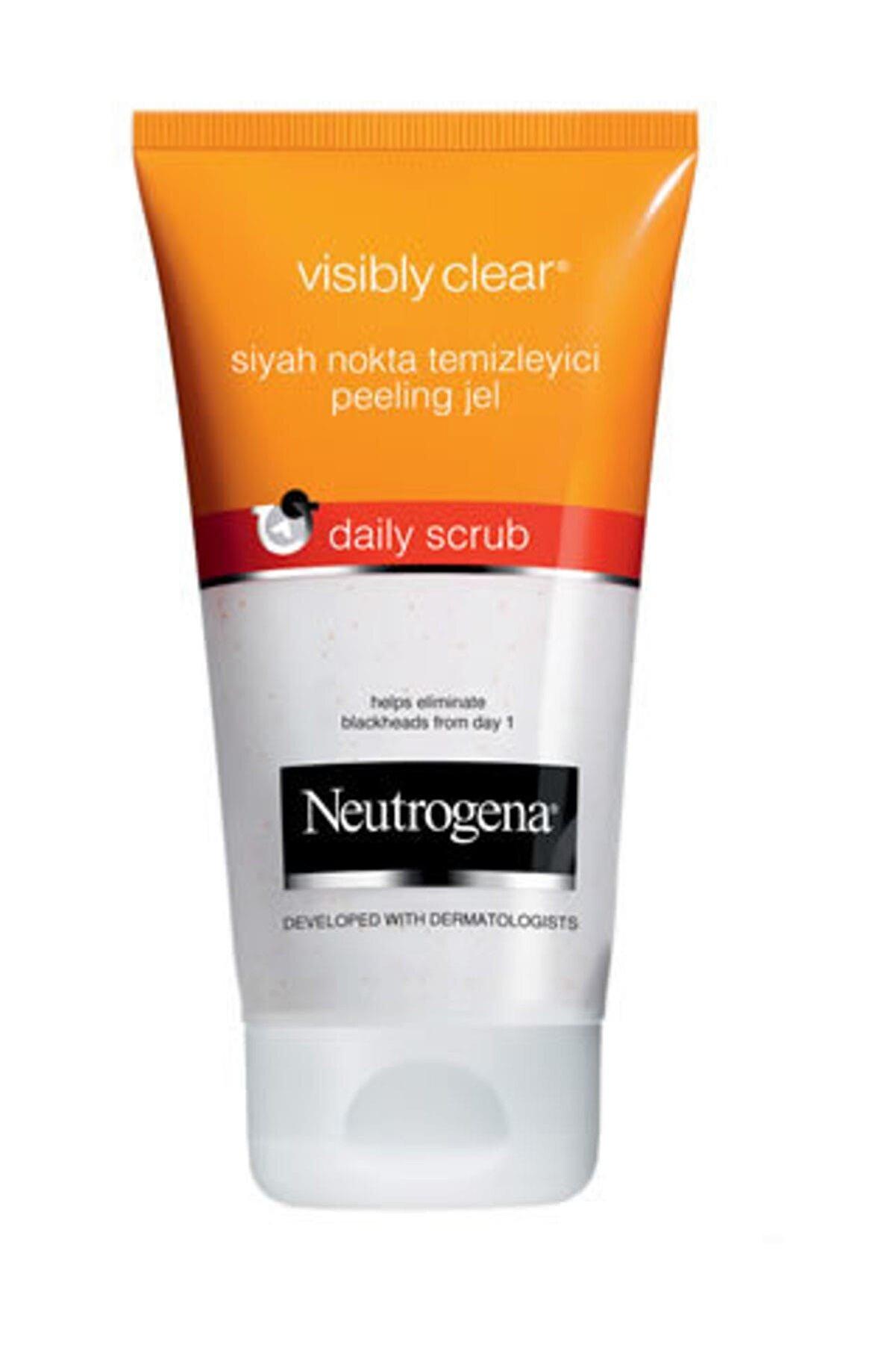 Neutrogena Visibly Clear Siyah Nokta Temizleyici Peeling 150 ml