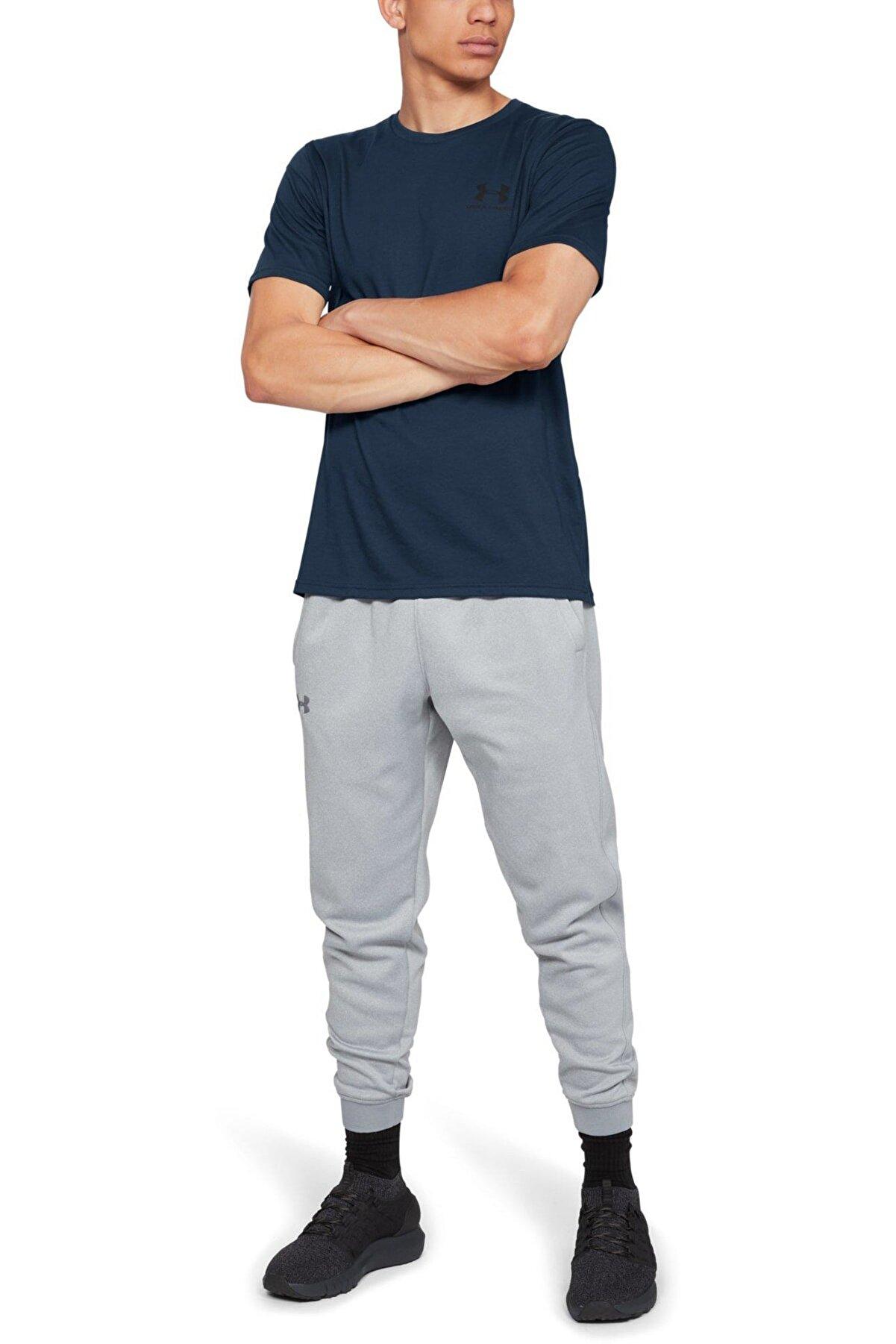Under Armour Erkek Spor T-Shirt - SPORTSTYLE LEFT CHEST SS - 1326799-408