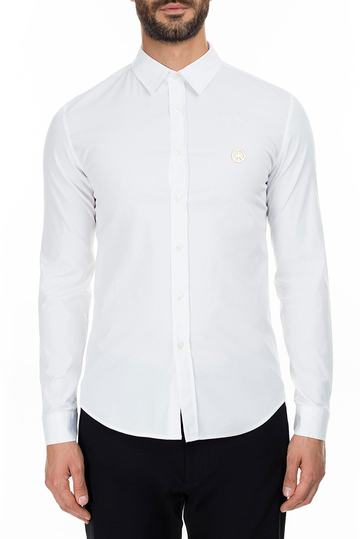 Moschino Erkek Beyaz Gömlek S Mc7308Is2891 A00