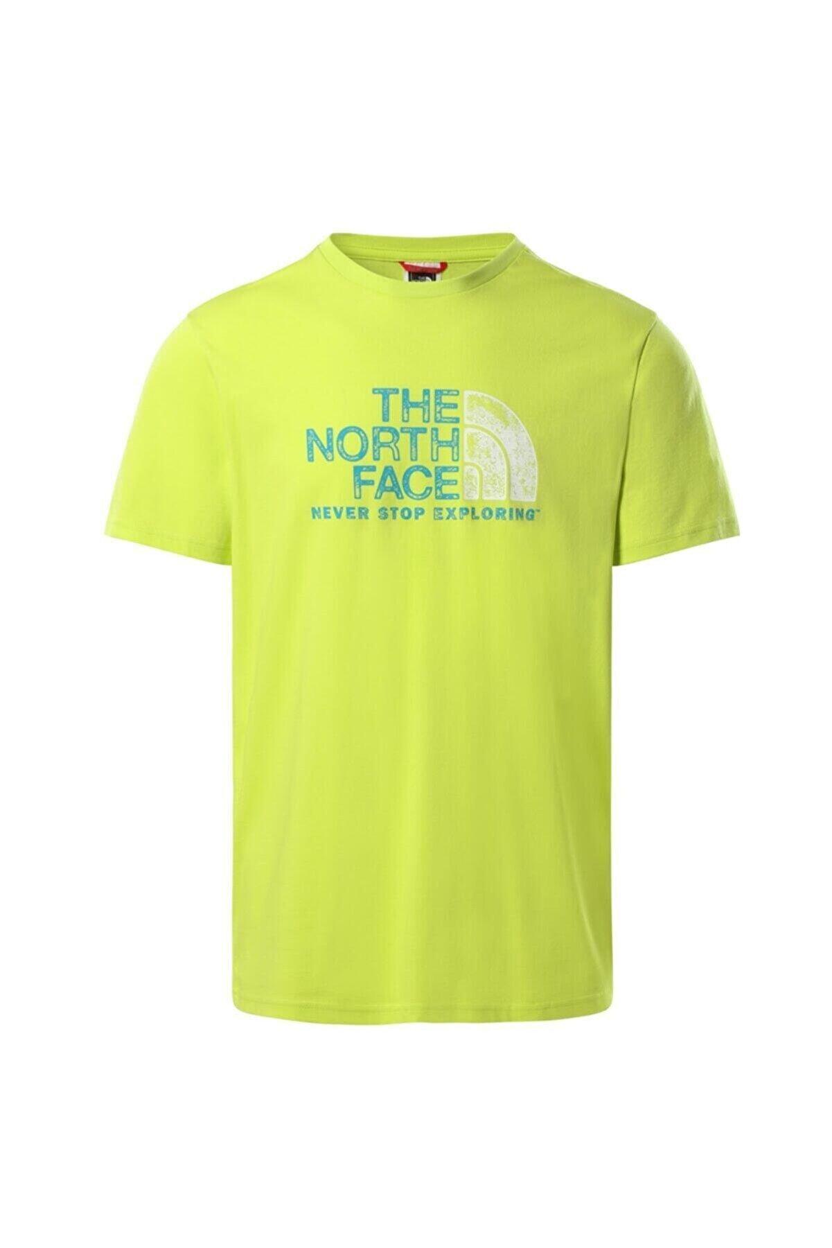 The North Face Rust 2 Erkek Tişört Yeşil
