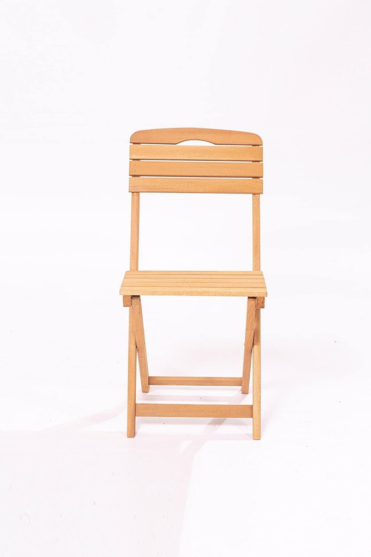 Meya Dekor Ahşap sandalye
