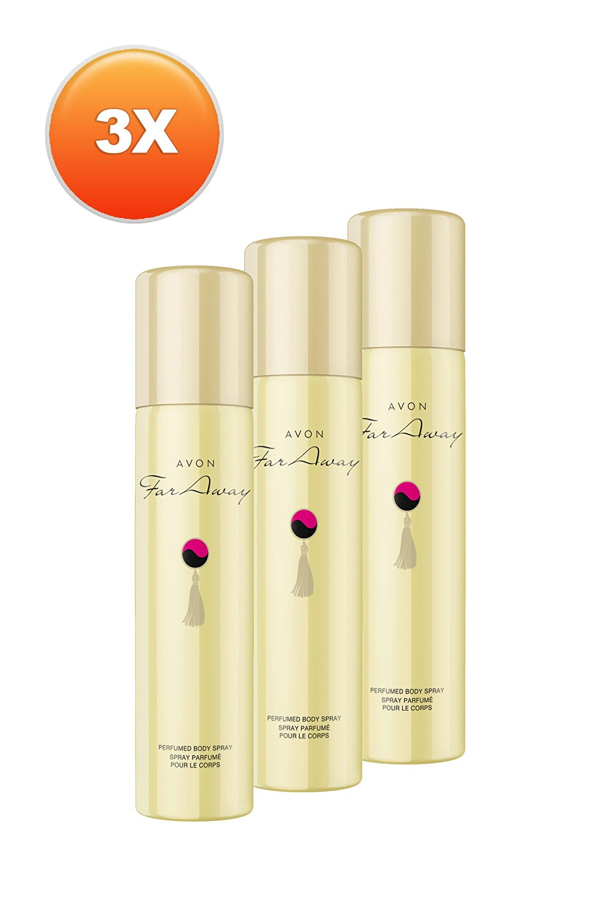 Avon Far Away Kadın Deodorant 3'lü Set 5050000100700