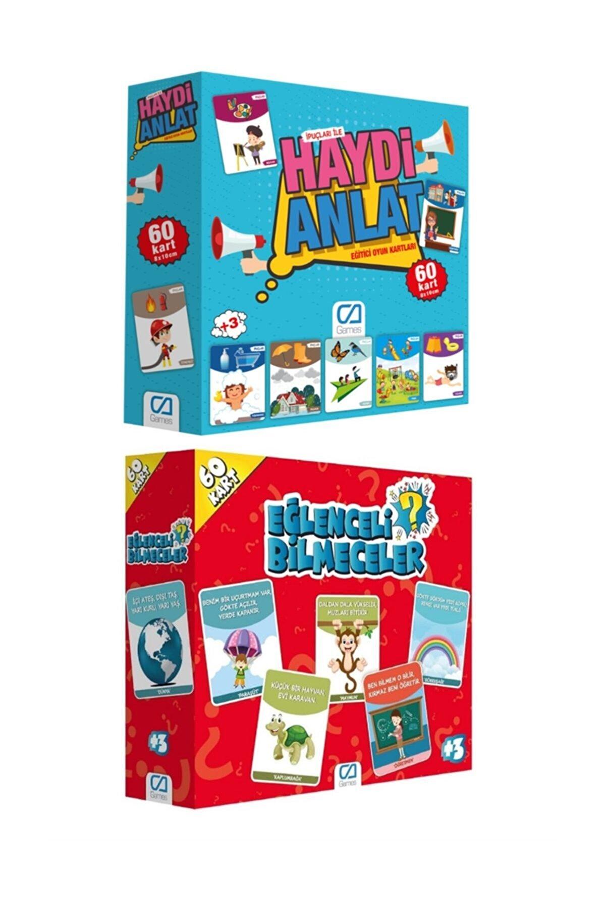CA Games Eğitici Aile Oyunu Seti ca.5080-5103 2'li