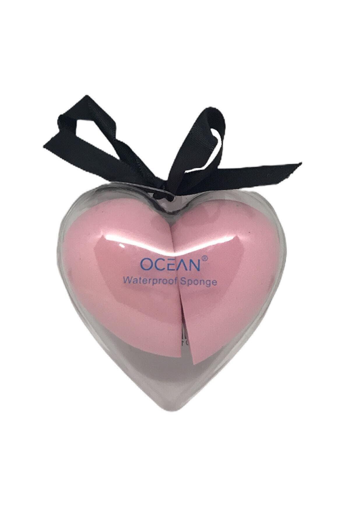 Ocean Kalpli Açık Pembe 2'li Armut Makyaj Süngeri