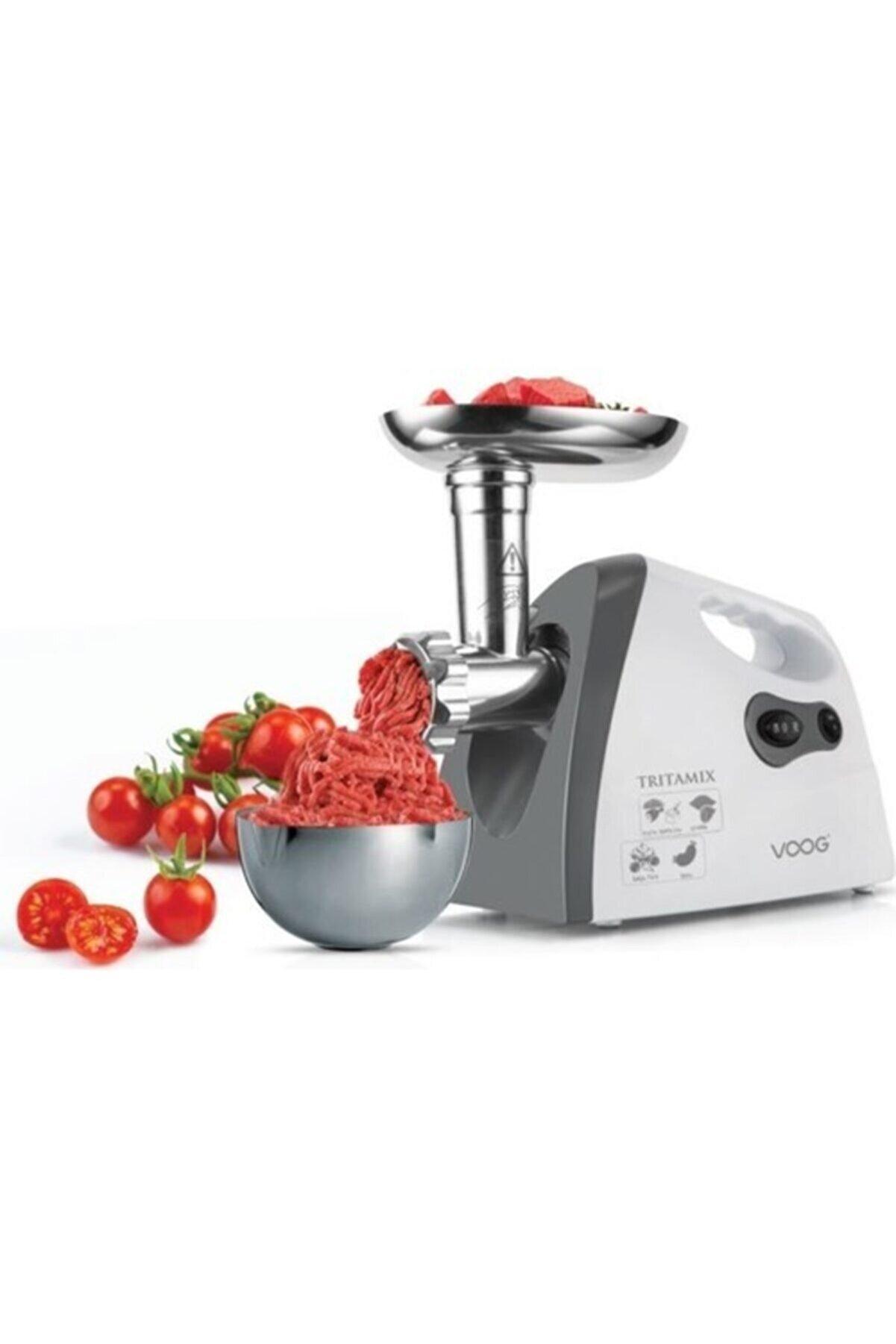 HARLEM Gurme Elektrikli Kıyma Makinesi Et Sosis Sucuk Aleti 2200w