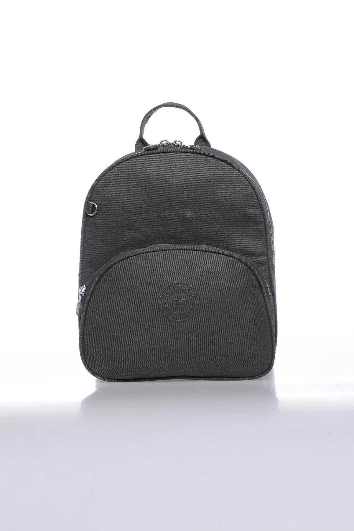 Smart Bags Smbkk3061-1001 Antrasit Kadın Sırt Çantası