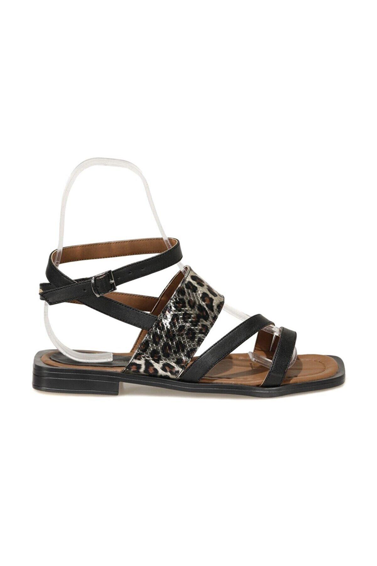 Butigo WEED 1FX Siyah Kadın Sandalet 101056784