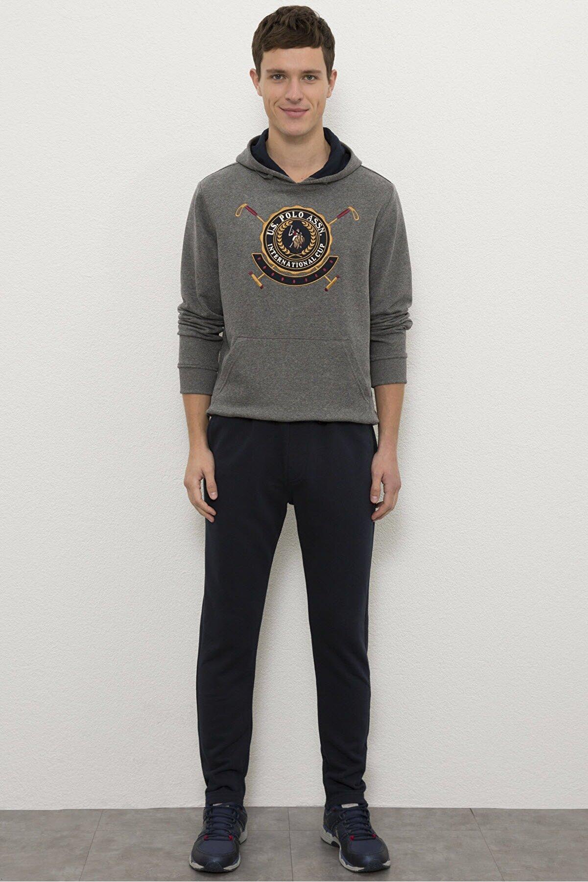 US Polo Assn Lacıvert Erkek Örme Pantolon