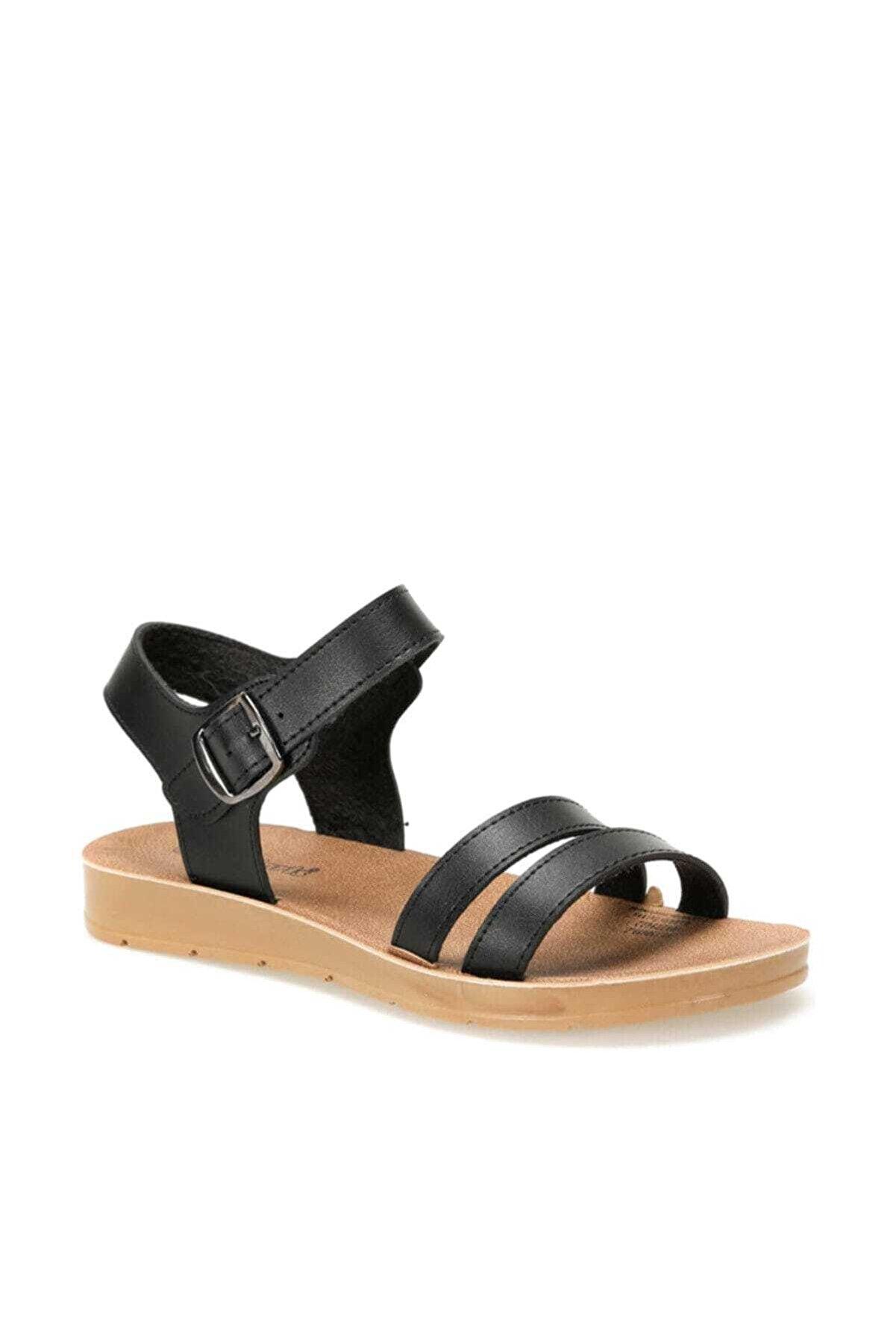 Polaris 91.158659.Z Siyah Kadın Sandalet 100379922