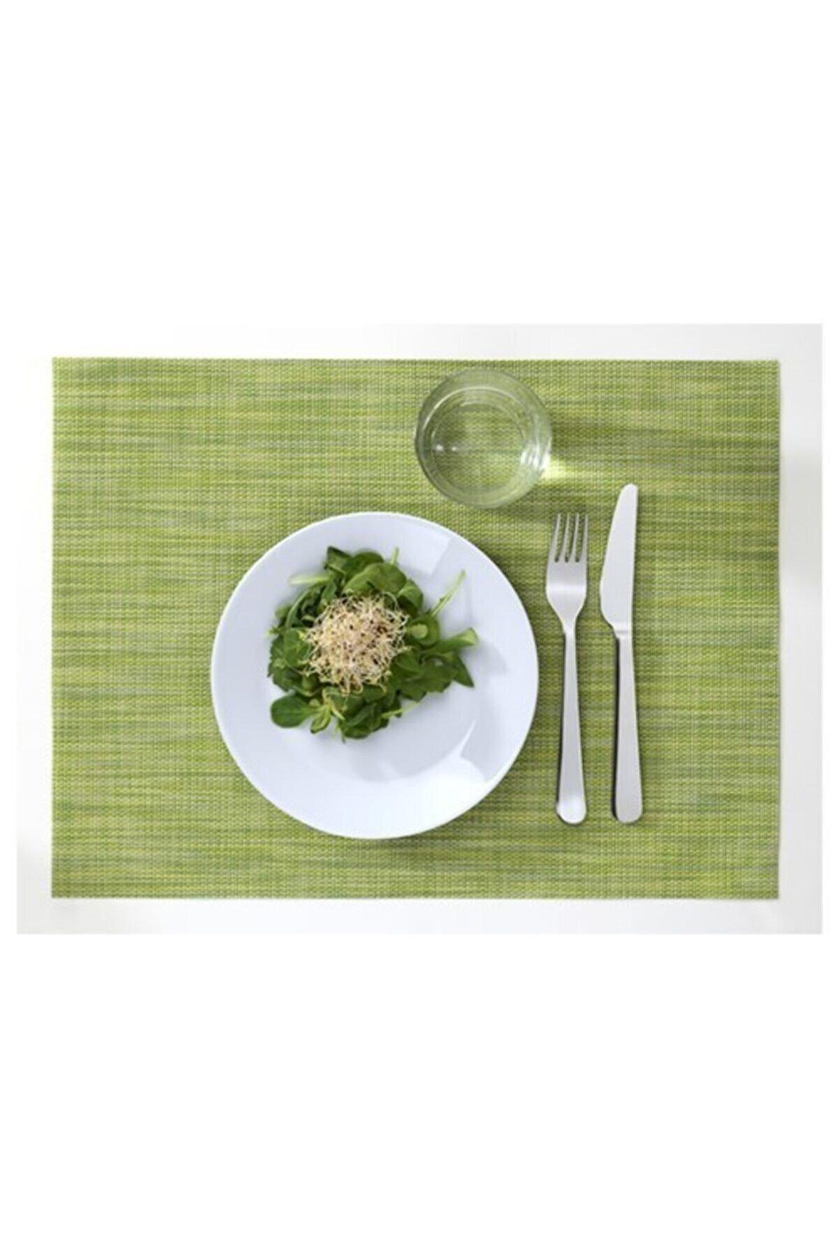 IKEA Amerikan Servis 45x33 Cm Fıstık Yeşili Meridyendukkan 1 Adet