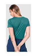 Jack Wolfskin Kadın Spor T-shirt Tech Outdoor 1807121-4078-n05