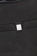 Samsonite Siyah Unisex Duopack - 4 Tekerlekli Körüklü Tek Bölmeli Orta Boy Valiz 67Cm 54022