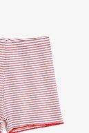 Koton Kırmızı Çizgili Kız Bebek Şort & Bermuda