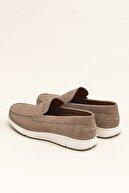 Elle CARLIN Hakiki Deri Kum Erkek Ayakkabı