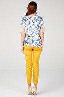 ON Çiçek Desenli Bluz