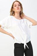 Fabrika Kadın Beyaz Bluz 504393082 Boyner