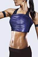 Marka Sportwear Kadın Siyah Termal Sauna Terleten Tayt Atlet 2'li Takım