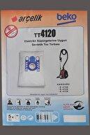 Arçelik S 4120 - 4122 - 4124 Kanguru Toz Torbası Bez 10 Adet