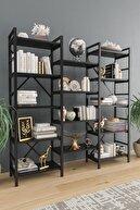 Ardeno Oertha Kitaplık - Siyah