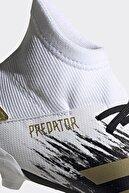 adidas Erkek Çocuk Beyaz  Krampon Predator 20.3 Fg J Fw9215