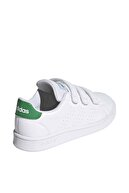 adidas Unisex Çocuk Beyaz Spor Ayakkabı Ef0223 Advantage
