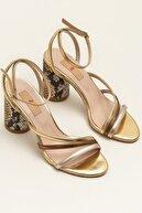 Elle CALIMESAA Altın Kombin Kadın Sandalet