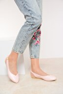 Shoes Time Pudra Deri Kadın Sandalet 20Y 900