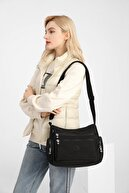 Smart Bags Smbyb1115-0001 Siyah Kadın Çapraz Çanta