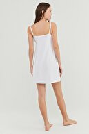 Penti Beyaz Bridal Shine Relax Elbise