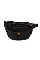 US Polo Assn Kadın Siyah Bel Çantası Us8109