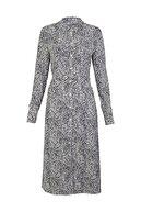 Marks & Spencer Kadın Bej Desenli Midi Gömlek Elbise T42007619