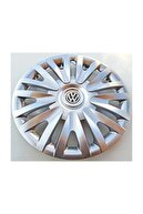 Seta Volkswagen Polo - Golf - Bora 15'' Inç Jant Kapağı 4 Adet Kırılmaz Esnek - Amblem Hediyeli