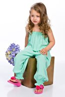 Pitti Kız Çocuk Mint Tulum 9238