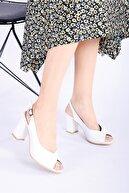 RİKEL DERİ Kadın Topuklu Deri Ayakkabı Shn-0091-1