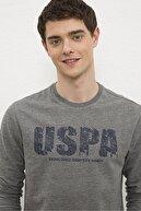 US Polo Assn Grı Erkek Sweatshirt G081Sz082.000.1219370