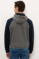 US Polo Assn Antrasıt Melanj Erkek Sweatshirt G081SZ082.000.1219153