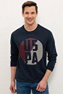 US Polo Assn Lacıvert Erkek Sweatshirt G081SZ082.000.1224378