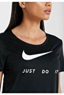Nike Women's W Nk Top Ss Swsh Run T-shirt - Cj1970-010