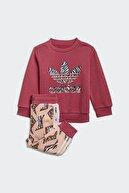 adidas Kız Bebek Günlük Eşofman Takım Crew Set Gn2219