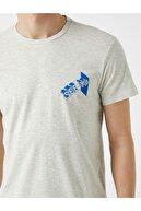 Koton Erkek T-shirt Gri 1yam11501hk