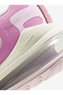 Nike Kadın Pembe Bağcıklı Spor Air Max React Sneaker Cz0364-600