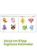 Kids Babies Renkleri Öğreniyorum Türkçe-ingilizce Kelimeler 15x15 Cm Kitap