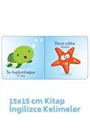 Kids Babies Su Altını Tanıyorum Türkçe-ingilizce Kelimeler 15x15 Cm Kitap